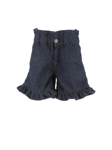 SHORTS IN DENIM MODELLO ROUCHES COUTURE